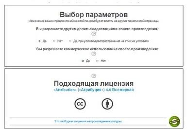 Открытая лицензия Creative Commons