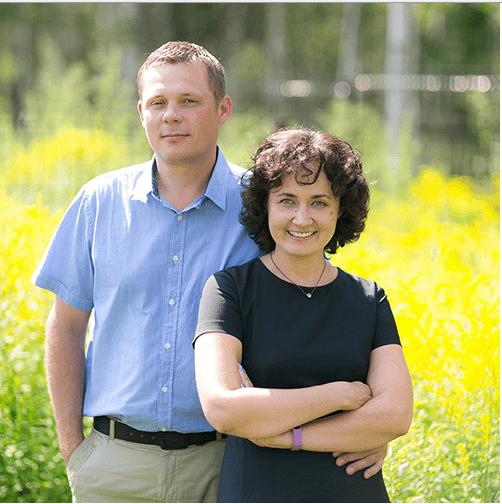 Наталья и Леонид Одеговы